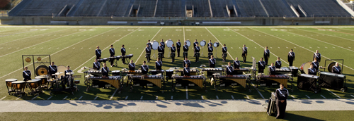 The 2012 L.D. Bell Drumline